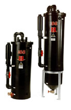 Flat bottom VGS & extended body VGS oil water separators